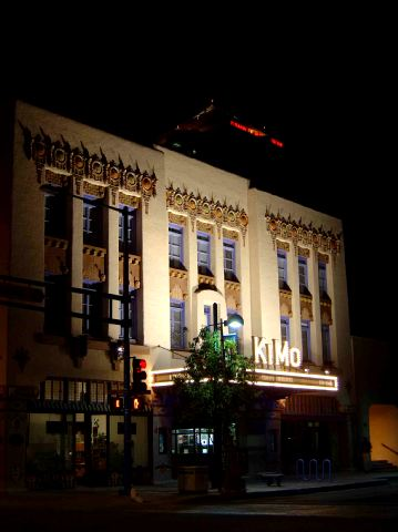 Ghost hunt and investigation of the KiMo Theater, Albuquerque, NM